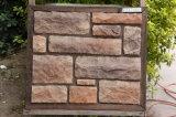 Folheado artificial de pedra da pedra da telha da parede de pedra da cultura (YLD-71024)