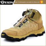Peso leggero militare dell'esercito che fa un'escursione la scarpa da tennis tattica dei pattini di sport esterni