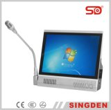 Big Screen를 가진 Singden Sm500 Paperless Conference System