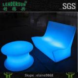 Ändernde wasserdichte des Plastikled färben helle Birne Tee-Tisch-LED der Möbel-LED der Beleuchtung-LED