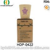 Copo de bambu orgânico biodegradável por atacado da fibra (HDP-0422)