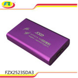 SSD USB 3.0 6 Gbps HDD 상자 또는 Caddy 또는 상자 의 SATA 2.5 하드드라이브 디스크 HDD 울안