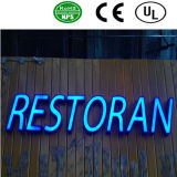 옥외 표시를 위한 3D LED 플라스틱 편지