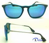 Gafas de sol del diseñador de la marca de fábrica de la manera con insignia de encargo