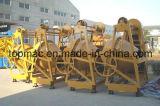 Inclinación del tambor mezclador de concreto (TDCM200-13D)