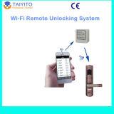Slot van de Deur WiFi van het Controlemechanisme van WiFi het Slimme Elektronische voor Hotel/Flat