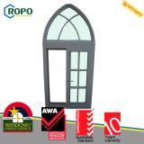 현대 집 UPVC/PVC 플라스틱은 조정 유리창 디자인을 활 모양으로 했다