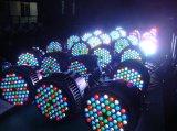 Iluminação excelente 54PCS 3W 3 em 1 luz impermeável da PARIDADE