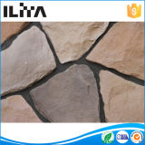Folheado de pedra Manufactured do folheado de pedra empilhado, pedra artificial da cultura