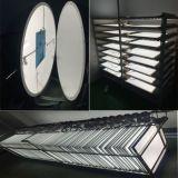 LEDの照明灯595*595*12mm 32W DimmableおよびCCT Adjustabel分類される新しいデザインLED照明SMD2835セリウム