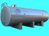 Embarcação do transporte do aço inoxidável sem isolação da temperatura
