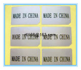 Fatto in Cina Adhesive Sticker Paper
