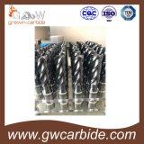 Buena calidad del molino de extremo del carburo de tungsteno con varias tallas