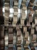 Picadora de papel plástica del alto de la desfibradora eje eficiente del doble