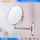 Ottone specchio bidirezionale cosmetico della parete da 8 pollici