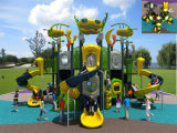 Campo de jogos ao ar livre das crianças temáticos estrangeiras de tamanho médio de Kaiqi (KQ50024A)