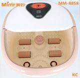 Massager mm-8858 del BALNEARIO del pie del esfuerzo personal