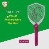 Swatter eletrônico recarregável de mosca elétrica