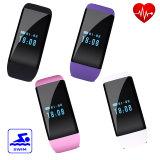 Reloj elegante impermeable con el monitor del ritmo cardíaco