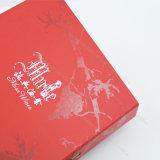 Cadre neuf d'impression de livre À couverture dure de boîte à boissons de cadeau/papier de vin de modèle