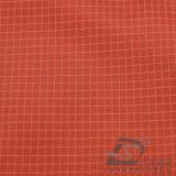 вода 20d 250t & Ветр-Упорной напольной Sportswear ткань 100% нити полиэфира жаккарда шотландки вниз сплетенная курткой Двойн-Striped (L011)