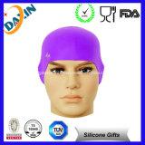 Самая новая дешевая изготовленный на заказ крышка Swim силикона для длинних волос