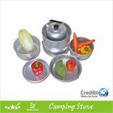 Alcool Burner Cookware Set per Camping