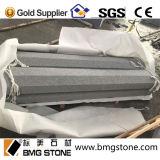 Paracarro grigio scuro del granito G654, paracarro del granito, bordi