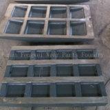 Soem-Minenmaschiene-Kiefer-Zerkleinerungsmaschine-örtlich festgelegte Kiefer-Platte für Verkauf