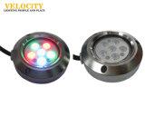 높은 광도 IP68 RGB 스테인리스 LED 바다 방수 배 빛