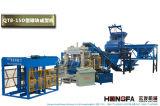 Bloc concret complètement automatique de matériel de construction faisant la machine de machine à paver de machine