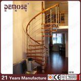 Diseño espiral de las escaleras de la madera para la venta (DMS-B1018)
