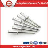 Remache del remache de las persianas de la galvanización/de aluminio de las persianas/remache de la depresión