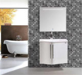 PVC semplice White Bathroom Vanity di Wall Mounted con Mirror