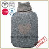 bouteille d'eau 2L chaude avec la couverture tricotée par cachemire
