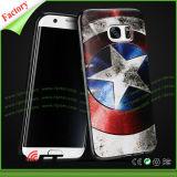Keur Gevallen van de Telefoon van de Druk van het Ontwerp van de Douane de UV Mobiele voor de Melkweg van Samsung S7 goed