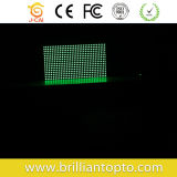 Módulo LED DOT Matrix Green P10