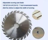 Herramientas para trabajar la madera Tct la eficiencia de carburo de hoja de sierra para madera y MDF aglomerado de corte