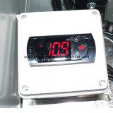420 litros empaquetaron el compartimiento del almacenaje del hielo en la gasolinera