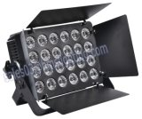 24 luces de la superficie del alto brillo de RGBW 4in1 LED