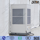 Assoalho que está o condicionador de ar portátil da C.A. 36HP para o evento industrial ao ar livre