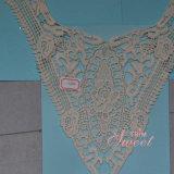 Collier 100% de lacet d'Afraican de coton pour le vêtement de femme