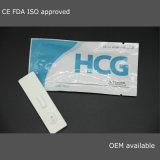 Essai approuvé de carte de grossesse d'essai de cassette de grossesse du Rapid HCG de la CE