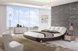 2015ベストセラーの現代デザイン大人の革ベッド(HC170)