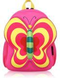 Sacos bonitos da trouxa da escola da menina da borboleta do OEM