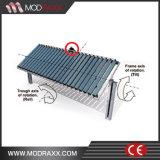 Späteste Stahlstütze-Solarbaugruppen-Schienenplatten (MD0039)
