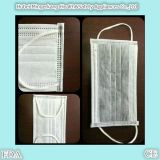 4 Falte-betätigte Holzkohle-Wegwerfgesichtsmaske mit Earloop