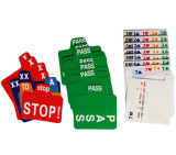 El plástico substituye las tarjetas para el puente de contrato