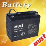 Lead Acid sellado Deep Cycle Gel Battery para Solar System