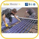 A energia solar do coletor -100% da água da tubulação de calor 2016 livra